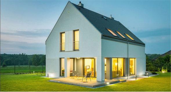 Außenbeleuchtung für das Haus