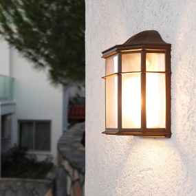 Wandleuchten für Außen - Außenwandleuchten für den Fassadenbereich