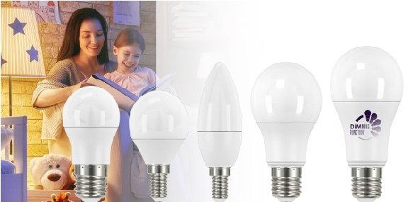Schalten Sie um auf effiziente Leuchtmittel