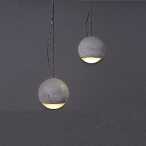 Betonlampen für moderne Loft- und Industrieräume