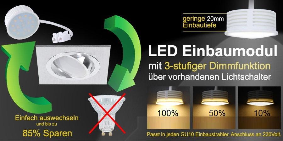 Switchmo LED - Clever dimmen mit bereits vorhandenem Lichtschalter